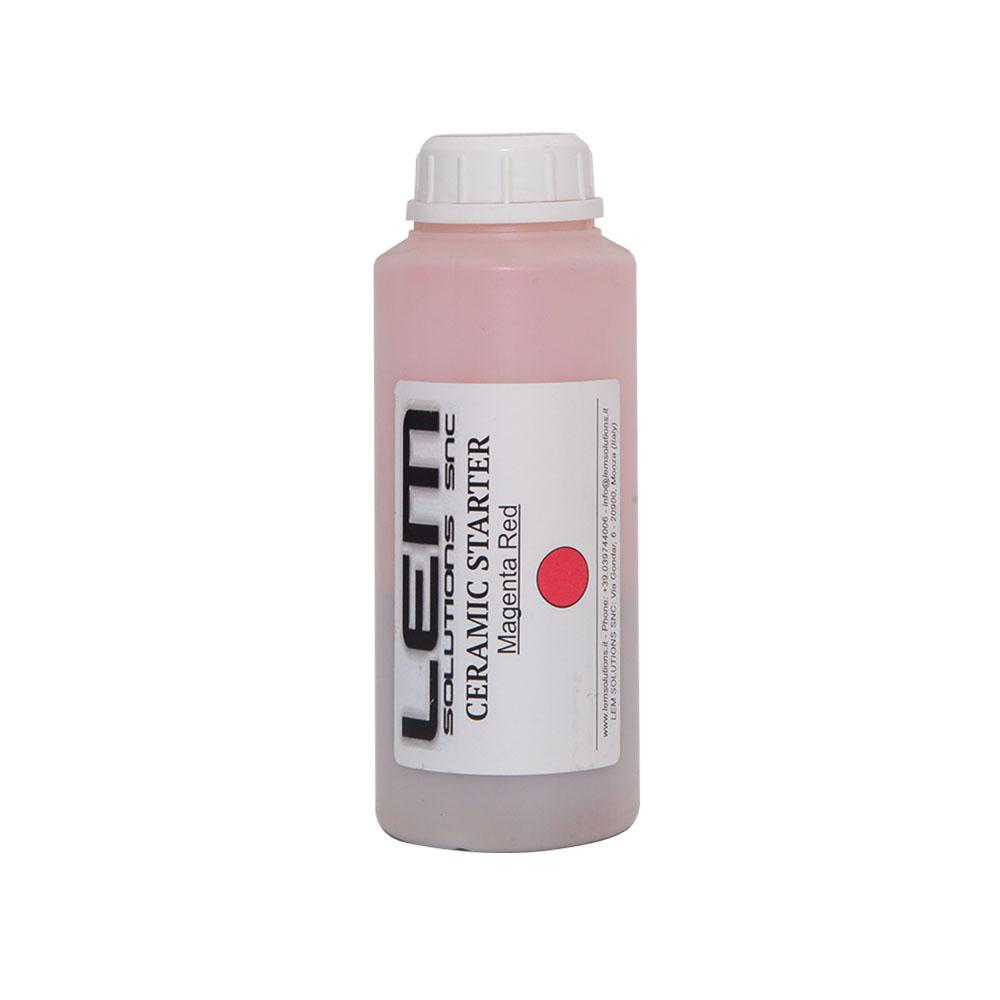 Ceramic Starter Magent Red 05