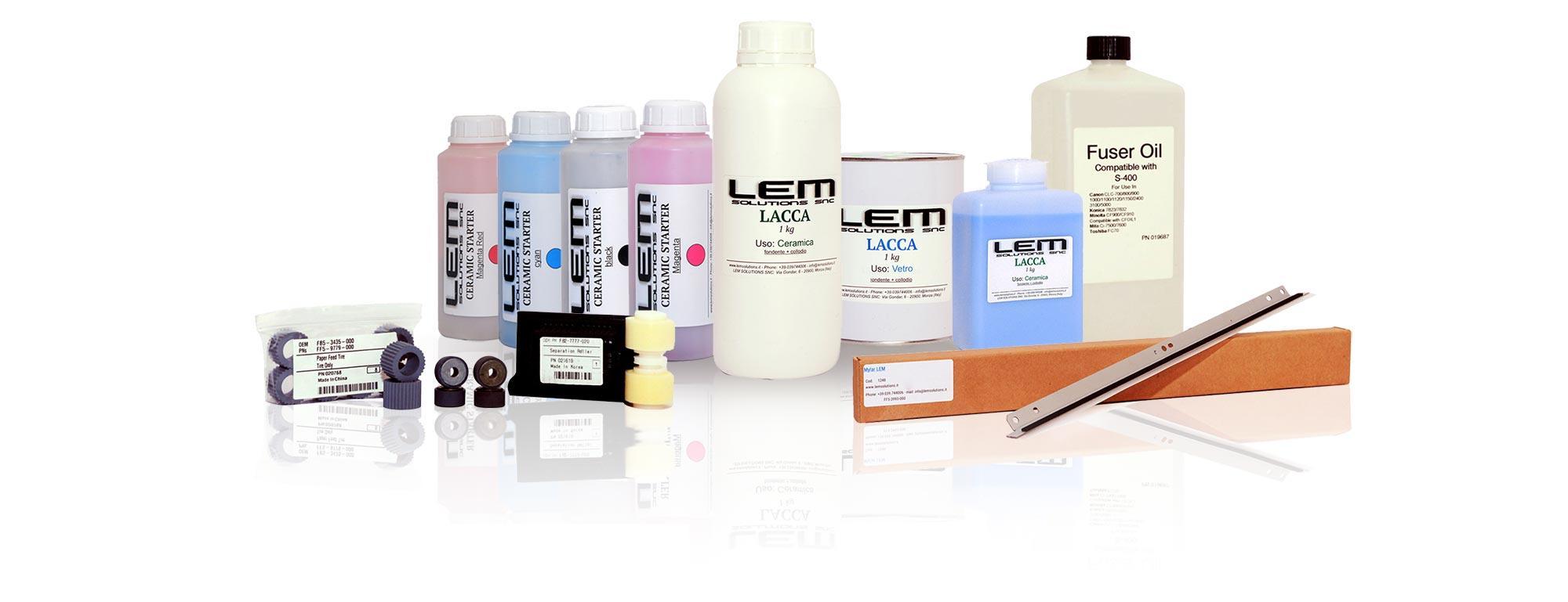 LEMSolutions ricambi toner stampa fotoceramica 02
