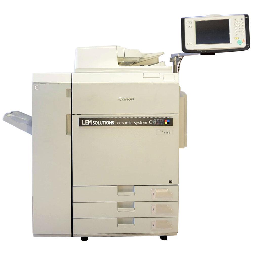 c 650 Stampante Fotocercamica